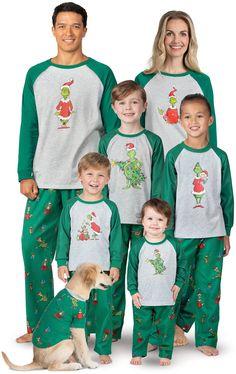 Grinch Matching Family Pajamas Matching Christmas Pjs 5522e836a