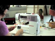 1/10 BERNINA 530 and 550 QE: getting started and prepared for sewing - YouTube