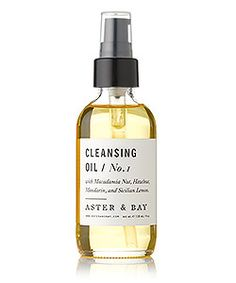 Aster & Bay Cleansing Oil Macadamia Mandarin   Spirit Beauty Lounge