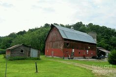 Nickel Avenue #Barn Art Print by Bonfire #Photography