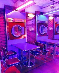 gambar purple, aesthetic, and neon Purple Aesthetic, Retro Aesthetic, Aesthetic Photo, Aesthetic Pictures, Photography Aesthetic, Vaporwave, Bar Deco, Photowall Ideas, Deco Restaurant