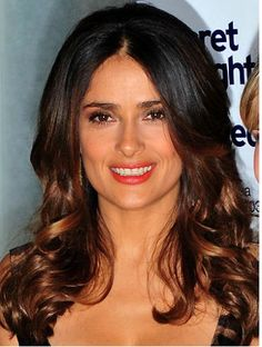 Hair Tricks That Make You Look 7 Years Younger Brunette Ombre, Ombre Hair, Dip Dye Hair, Long Wavy Hair, My Hairstyle, Celebrity Hairstyles, Wavy Hairstyles, Layered Hair, Hair Dos