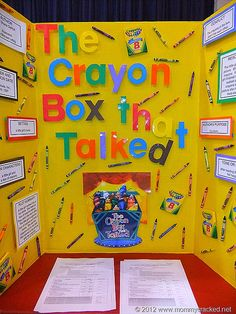 Ideas for school reading fair projects. Examples of reading boards from a school reading fair that are great for elementary school reading fairs. Reading Projects, Book Projects, Reading Activities, Teaching Reading, School Projects, Book Report Projects, Learning, Teaching Ideas, Class Projects