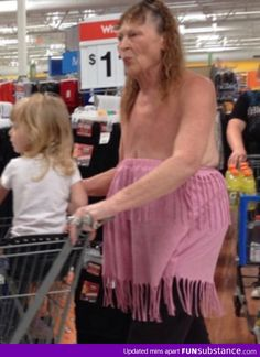 """People of Walmart"" has reached a new low....WTF"