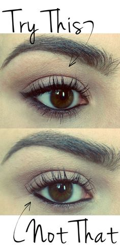 Need to try this!! /// How to rim the waterline with eyeliner: Try top and bottom liner!