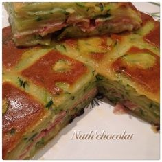 Gratin courgettes, chèvre et jambon de parme - Dinner Party Recipes, Best Italian Recipes, Light Recipes, Vegetable Recipes, Vegan Recipes, Brunch, Easy Meals, Food And Drink, Yummy Food