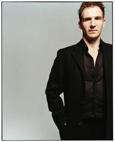 Ralph Fiennes photographed by Ben Watts