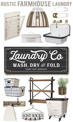 Laundry Co Planked Wood or Canvas Sign Room by letteredandlined
