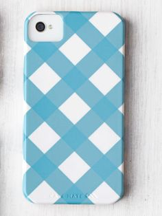 This perky gingham iPhone cover also comes in red, yellow, green, and peach. ($39.99; pencilshavingsstudio.etsy.com; use COUTRYLIVING15 for discount)