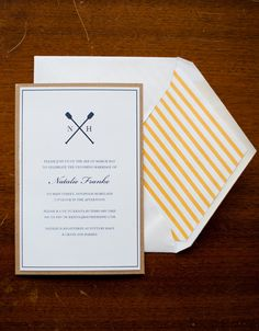 Preppy Crew Inspired Bridal Shower | Photographer: Krista A Jones Photography YES PLEASE