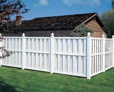 Shadow Vinyl Privacy Fence! House #2 will have this!