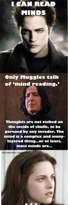 Image result for why harry potter is better than twilight