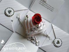 Mein liebes Team-Mitglied Anna hat geheiratet. Selbstverständlich sollten Anna und ihr Mann Ronny besondere Post von mir bekommen. Es dürfte nicht einfach nur eine Karte sein. Schon länger wollte i…
