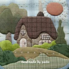 Trendy patchwork quilting patterns fun ideas quilting patchwork patchwork quilt boys bedroom single bed navy red and white vintage fabrics 65 00 Patchwork Quilting, Applique Quilts, Patchwork Bags, Quilted Bag, Mini Quilts, Small Quilts, House Quilt Patterns, House Quilt Block, Patch Quilt