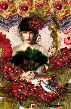 Romany Soup Art, Digital Collages