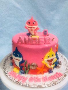 Shark Birthday Cakes, Birthday Party Themes, Shark Cake, Baby Shark, Philippines, Desserts, Pink, Princess, Tailgate Desserts