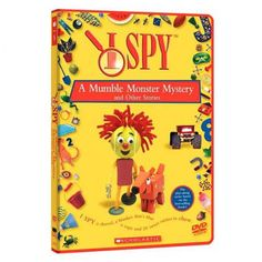 I Spy - A Mumble Monster Mystery and Other Stories DVD
