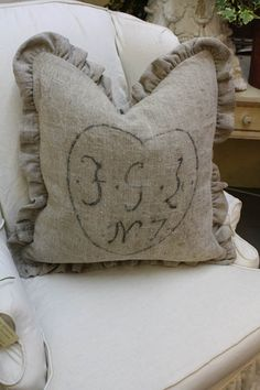 Beautiful Natural Fabric Pillow From Pierrdauxx Blog