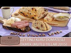 Selin Kutucular ile Zeytinli Kuru Domatesli Ekmek (Yılbaşına Özel) - YouTube