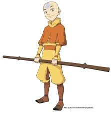Avatar the Last Airbender: Aang's Staff/Glider Avatar Halloween Costume, Avatar Costumes, Avatar Cosplay, Aang The Last Airbender, Avatar The Last Airbender, Cosplay Characters, Cartoon Characters, Fictional Characters, Avatar Ang