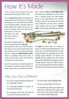 Ever wonder how a Flexi Clip is made? Read on!