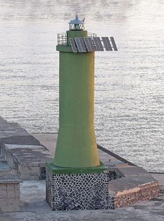 Lighthouse, Naples, Italy