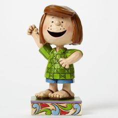 Jim Shore Peanuts Collection Peppermint Patty Personality 4044682 NEW