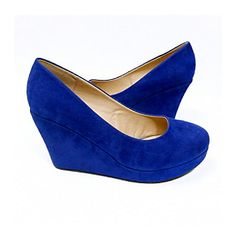 Cobalt wedges. Need these for fall!