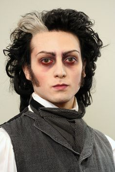 makeup for medieval ghost male - Google Search