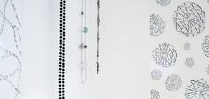 Beads wallpaper and Diamante wallpaper from Signature Collection. www.patternation.co.uk