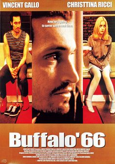 Christina Ricci and Vincent Gallo in Buffalo Buffalo '66, Alfred Hitchcock, Vincent Gallo, Mickey Rourke, Movies Worth Watching, Christina Ricci, Moving Pictures, Great Movies, Chiba