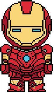 Avengers: Iron Man PDF Pattern by Shylah Addante
