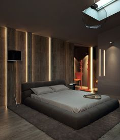 Фото — Penthouse at Chayka — Interior design (follow my board bedroom -- dream to see more pins #ClémentDomont)
