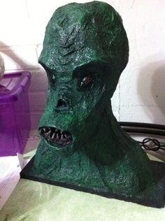 Pretendía ser el alien verde de #XFiles #FTF, pero bueno, es un #alien cualquiera XD