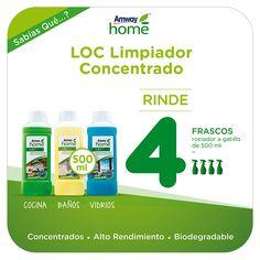 Novedades Amway - LOC Limpiador Concentrado