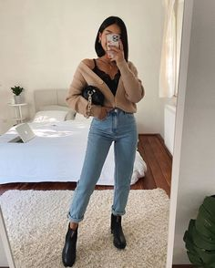 Casual Date Outfit Summer, Date Outfit Fall, Winter Date Outfits, Uni Outfits, First Date Outfits, Winter Fashion Outfits, Mode Outfits, Cute Casual Outfits, Outfit Winter