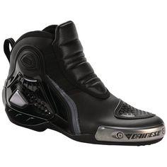 Amazon.com: Dainese Dyno Pro C2b Leather Motorcycle Shoes (Euro 44/ US 11, Black/Black/Black): Automotive
