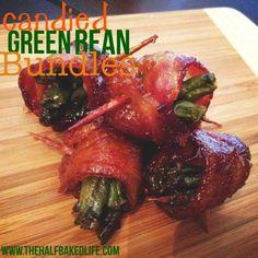 Candied Green Bean Bundles
