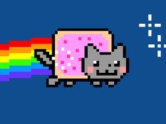 nyan cat moving - Google Search