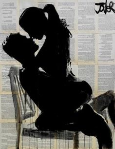 "Saatchi Art Artist Loui Jover; Drawing, ""the chair (SOLD)"" #art"