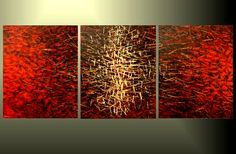 Abstract Art Palette Knife Painting Original by TatianasART