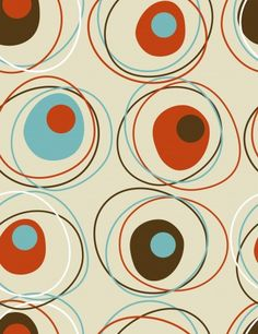 Retro Great retro wallpaper, circular pattern Vinyl Wall Mural - Styles - Great retro wallpaper, circular pattern Wall Mural ✓ Easy Installation ✓ 365 Day Money Back Guarantee ✓ Browse other patterns from this collection! Pattern Dots, Boho Pattern, Doodle Pattern, Pattern Texture, Circular Pattern, Retro Pattern, Pattern Design, Design Textile, Design Floral