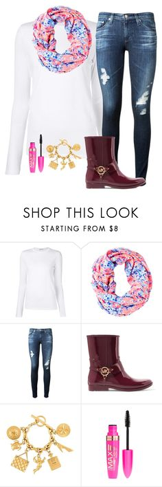 """""""Untitled #156"""" by kristi2014 on Polyvore featuring T By Alexander Wang, Lilly Pulitzer, AG Adriano Goldschmied, MICHAEL Michael Kors, Chanel and Rimmel"""