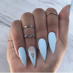 ғᴏʟʟᴏᴡ @ᴊᴀᴄᴋsᴏɴᴇᴍɪʟʏᴊ ғᴏʀ ᴅᴀɪʟʏ ᴘɪɴs - #nails #stiletto #stilettonails #nail