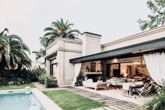 TAKE2T00 Dream Home Design, House Design, Future House, My House, Casas Country, House Outside Design, Casa Patio, Small Backyard Pools, Modern Pools