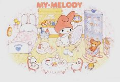 Vintage Sanrio by Hello Kitty Collection, via Flickr