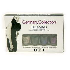 OPI Germany Collection Set. Starting at $4 on Tophatter.com!