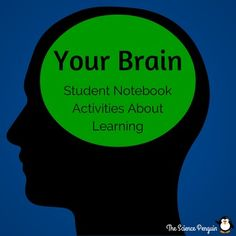 Your Brain: Free Student Notebook Activities About Learning.this is awesome and it's free! Would be great for explaining to students how their brain works and what they need to do to grow those dendrites! Student Teaching, Teaching Science, Life Science, Teaching Grit, Science Ideas, Teaching Tools, Teaching Ideas, Brain Based Learning, Social Emotional Learning