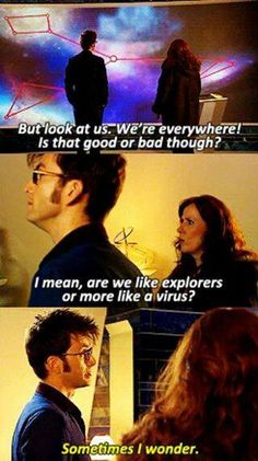 Planet of the Ood Catherine Tate, Doctor Who 10, Donna Noble, Sometimes I Wonder, David Tennant, Fandoms, Classic, Blue, Derby