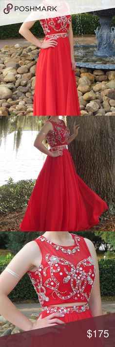 Prom/Formal Dress Two piece from a unique little boutique in Sarasota Dresses Prom